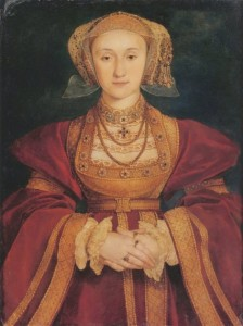 4. Anne Cleves by Hans Holbein