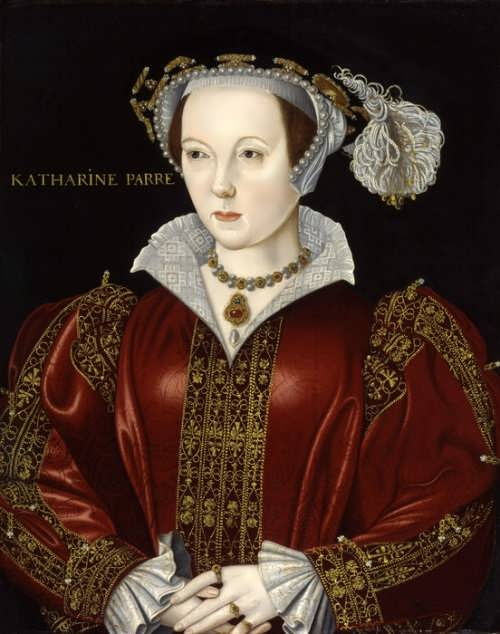 6. Catherine Parr, attributed to William Scrots
