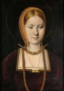 1. Catherine of Aragon. Michel Sittow