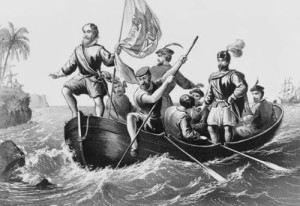 The Landing of Columbus at San Salvador, October 12, 1492