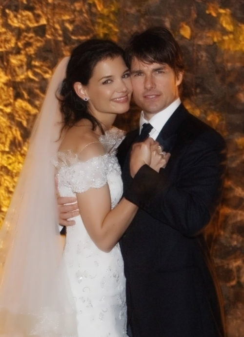 Tom and Katie Holmes
