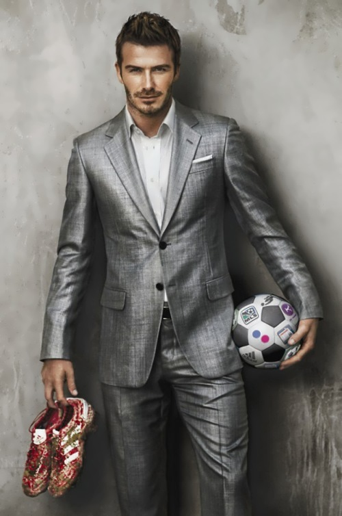 David Beckham – successful football player