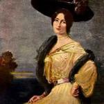 F.A. von Kaulbach. Portrait of Cleo de Merode, 1904