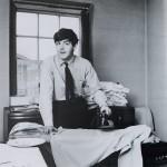 McCartney is ironing