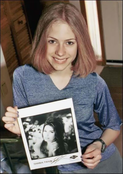 Avril in her teens