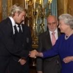 David and British Queen