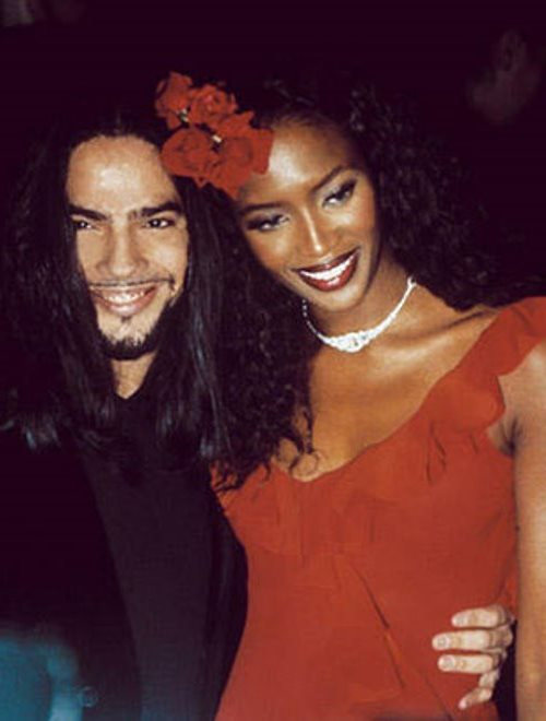 Cortes and Naomi Campbell