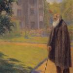 Ezuchevsky. Darwin in old age in Down