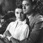 Gregory Peck and Audrey in the film Roman Holiday