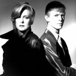 Bowie and Catherine Deneuve in the film The Hunger (1983)