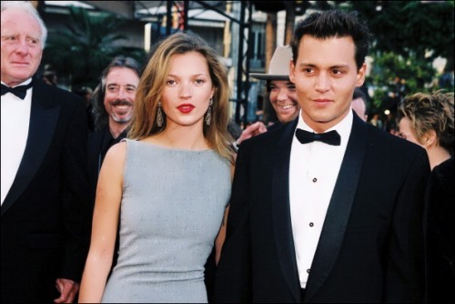 Depp and Kate Moss