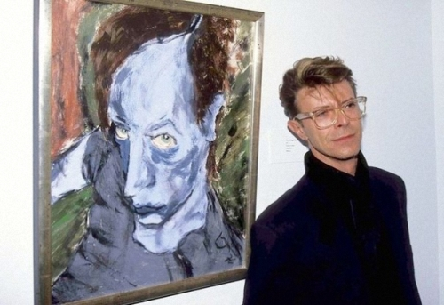 Bowie and his pictures