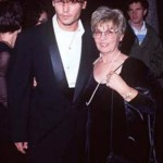 Johnny Depp and Betty Sue Palmer