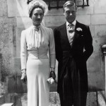June 1937, the Chateau de Conde, France. The marriage of the Duke and Duchess of Windsor
