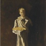 Churchill. Self-portrait