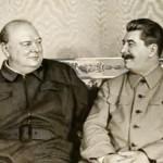 Churchill and Joseph Stalin