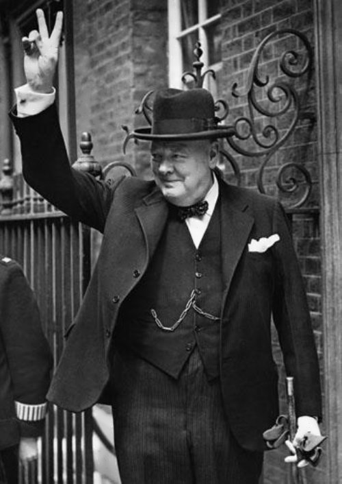 Winston Churchill - British prime minister
