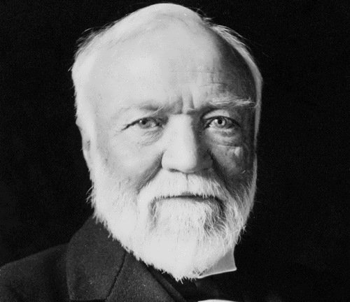 Andrew Carnegie – success story