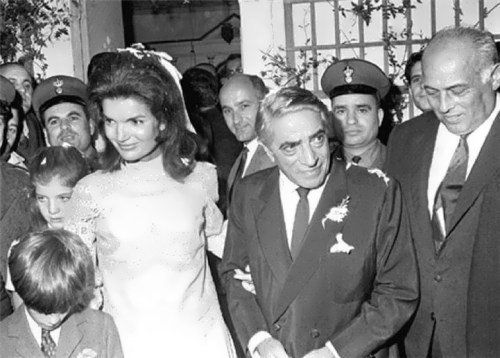 Jacqueline and Aristotle Onassis