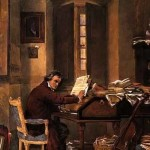 Beethoven Composing At Home