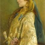 Walford Graham Robertson - Portrait of Sarah Bernhardt as Roxanna in Adrienne Lecouvreur, 1893