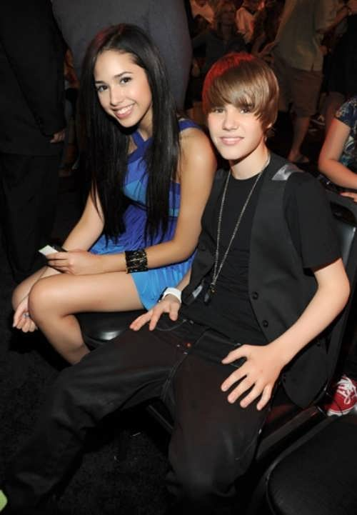 Bieber and Jasmine Villegas