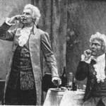 Chaliapin in the role of Salieri in the opera by Rimsky-Korsakov