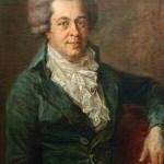 Johann Georg Edlinger. Perhaps the last lifetime portrait of Mozart, painted in 1790