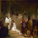 The Baptism of Pocahontas by John Chapman, 1840