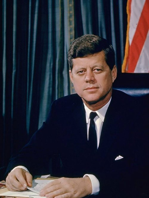 a look at the 35th president of the united states john fitzgerald kennedy In june 1963, president john f kennedy gave two major speeches: the first on  nuclear arms and america's relationship with the soviet union, and the second  on civil  the 48 hours that he believes defined the 35th president's legacy  i  think that if you look at him, for two and half years he really had an.