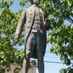 Statue of James Cook, Waimea, island Kauai