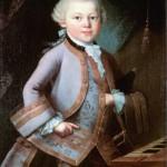 Pietro Antonio Lorenzoni. Mozart at the age of six in court dress, 1763