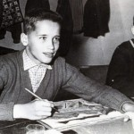 Schwarzenegger in his school age