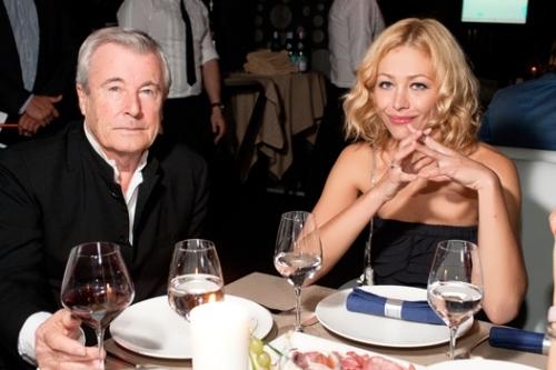Terry O'Neill and Ekaterina Volkova