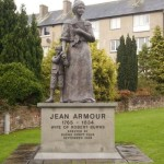 The monument to his wife - Jean Armour