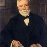 Francis Luis Mora. Portrait of Carnegie