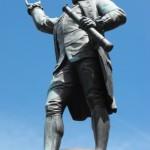 Monument to Captain Cook in Sydney, Australia