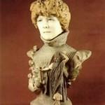 Jean-Leon Gerome. Bust of Sarah Bernhardt