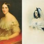 Sisters Ekaterina and Natalia Goncharova