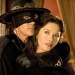 Catherine and Antonio Banderas in The Mask of Zorro