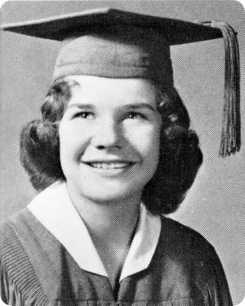 Janis in her school years