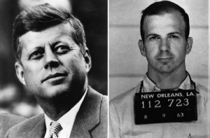 John F. Kennedy and Lee Harvey Oswald