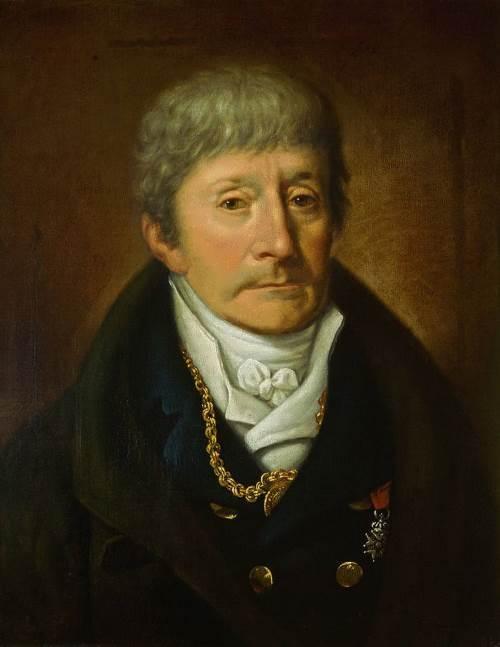 Josef Muller. Lifetime portrait of Antonio Salieri