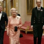 Craig and Queen Elizabeth II