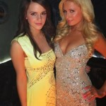 Emma and Paris Hilton
