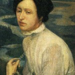 Portrait of Angelina Belova by Diego Rivera