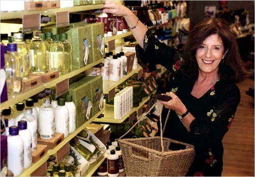 Did green goddess Anita Roddick sell out when she sold up to L'Oreal?