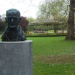 Ireland - Dublin - St Stephen's Green - James Joyce