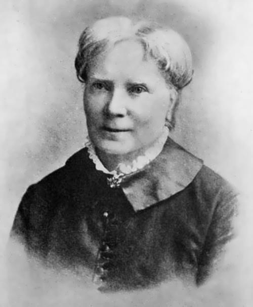 Blackwell - first woman in America to receive a medical degree