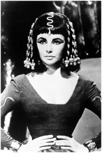 Elizabeth Taylor in the film Cleopatra, 1963